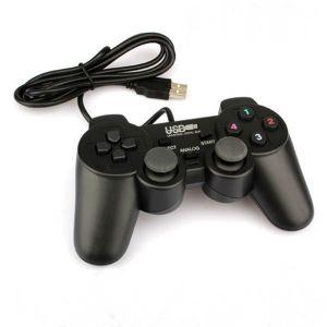 MANETTE JEUX VIDÉO USB Manette de Jeu Filaire pour Playstation 2 (PS2