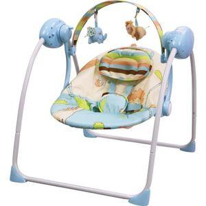 BALANCELLE Balancelle / transat bébé Electrique SPARKY BLEU