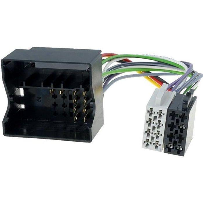 Adaptateur ISO Autoradio Citroen/ Peugeot ap04 Fakra - ADNAuto - ADN-AI