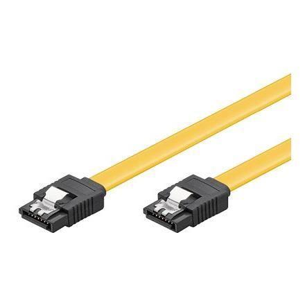 Alpexe® HDD S-ATA Câble 1-5GBits - 3GBits - 6GBits S-ATA L-Type > L-Type - CAK SATA 600-070 CLIP 0.70m