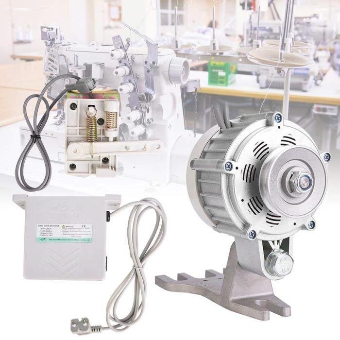 Servomoteur, moteur de machine à coudre industrielle Moteur de machine à coudre sans brosse à économie d'énergie 550W 0~5500rpm[781]