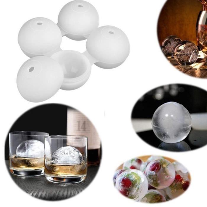 Plateau de barre de partie de moule de sphère de moule de fabricant de boule de glaçon de whisky de silicone CWY90517002_721