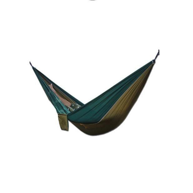 Toile Jardin Hamac Camping En Plein Air Portable Voyage Plage Tissu Balançoire Lit NOUVEAU YJL60718765AG