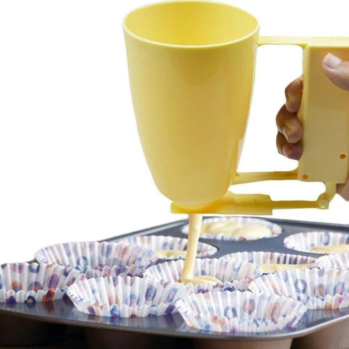 BRICOLAGE Poids Fabricant De Beignets À main Distributeur De Pâte Boulette Gaufrier Machine À Beignets Gât - Modèle: - WMGJMXA04898