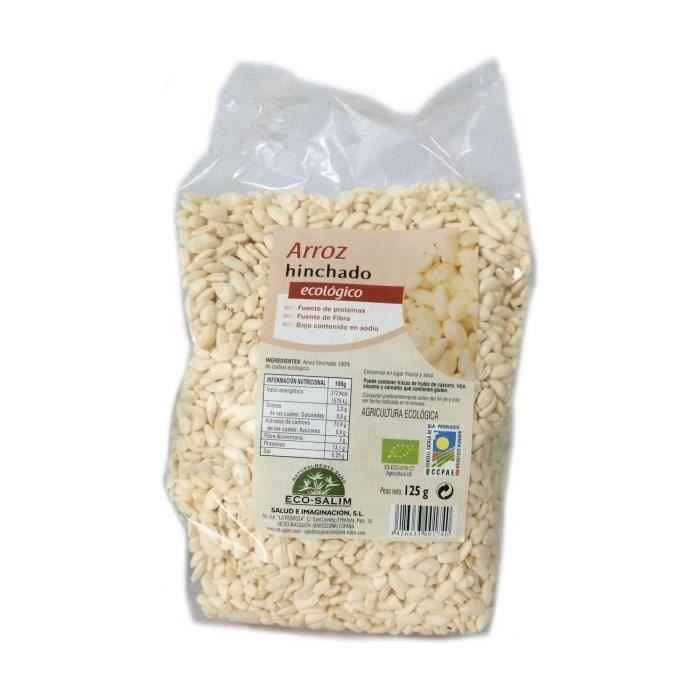 ECO SALIM - Riz soufflé biologique 125 g