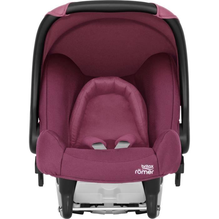 BRITAX RÖMER Siège auto bébé BABY-SAFE Groupe 0+ - Wine Rose