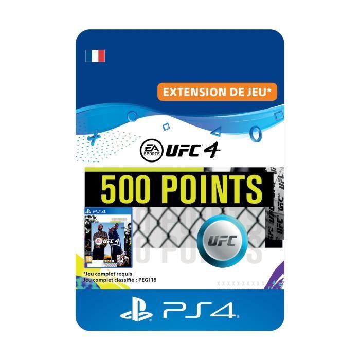DLC 500 Points UFC pour UFC®4 - Code de Téléchargement PS4