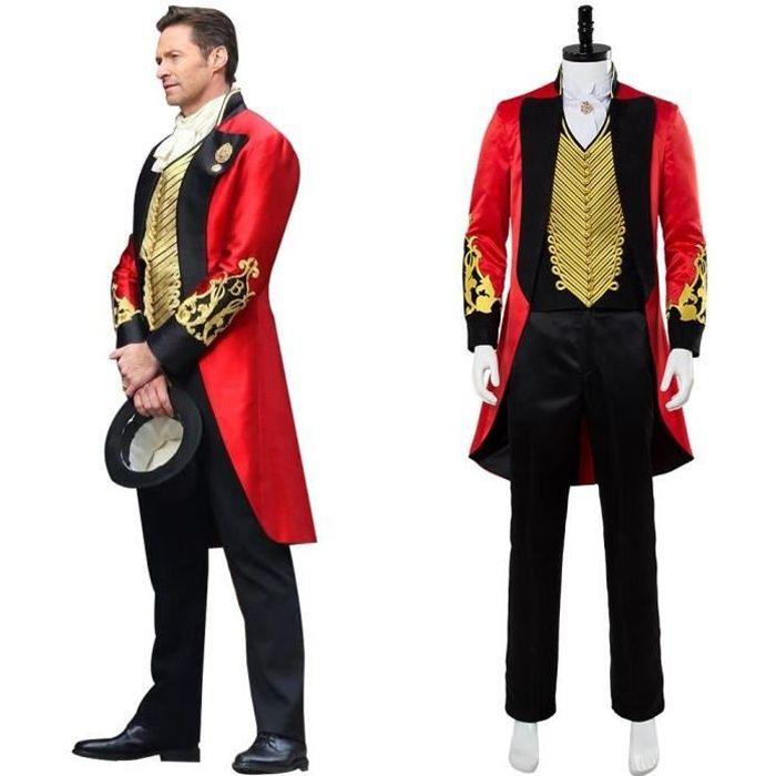 The Greatest Showman P.T. Barnum Cosplay Costume Déguisement Pour Homme