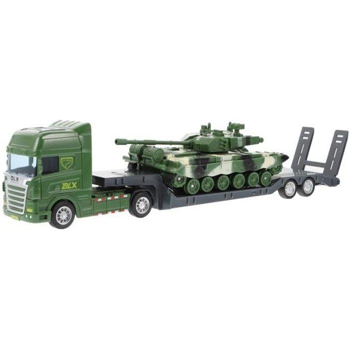 1 Set Enfants Camion Jouets Construction Modèle vehicule miniature assemble - engin terrestre miniature assemble monde miniature