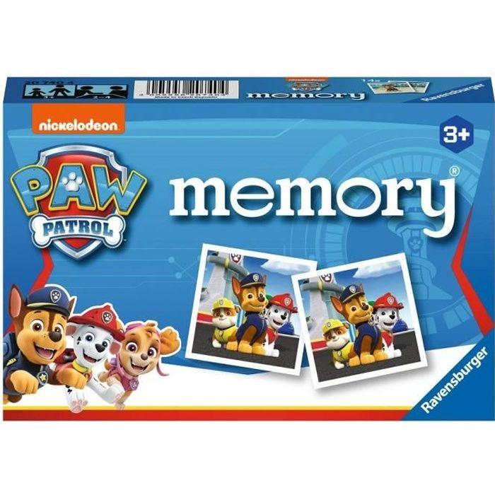 PAT'PATROUILLE memory® - Jeu éducatif classique - Jeu de mémoire - Ravensburger-Dès 3 ans