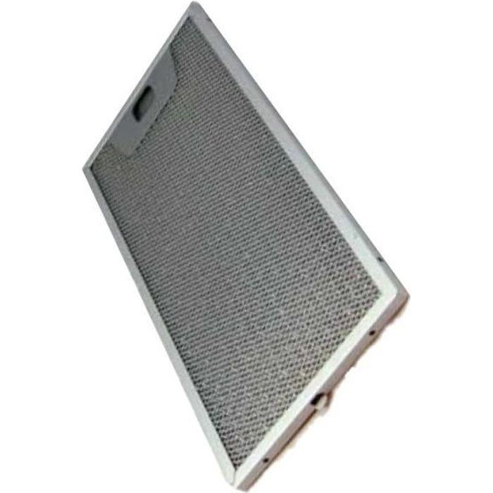 Filtre métal anti graisse - Hotte - ROBLIN (24644)