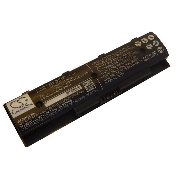 1 x Batterie de remplacement pour ordinateur portable, Notebook HP Envy TouchSmart M7z - Remplace: HSTNN-LB4N, HSTNN-LB4O, HSTNN-...