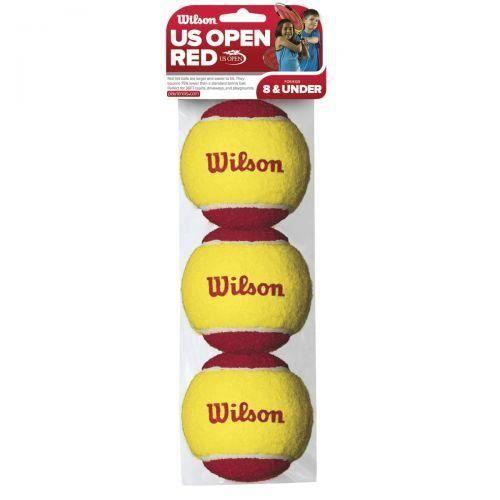 WILSON - Lot de trois balles de tennis Starter Wilson rouge - (Unique)