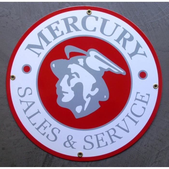 Plaque emaill e mercury deco tole email usa achat for Decoration murale usa