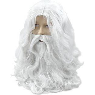 CHAPEAU - PERRUQUE Perruque et Barbe de Déguisement - Père Noël