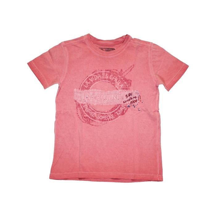 T-shirt manches courtes enfant garçon DESIGUAL