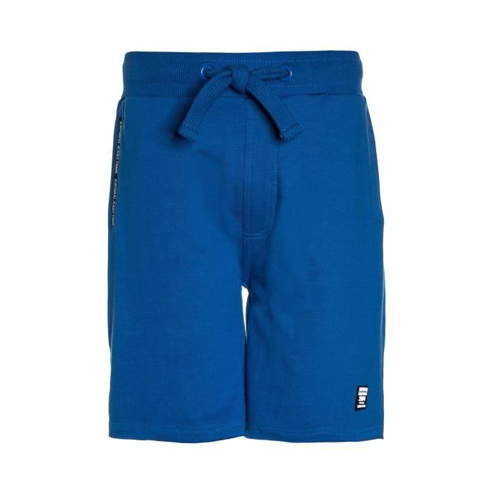 Kaporal Short Garçon Racke Bleu Bleu - Achat