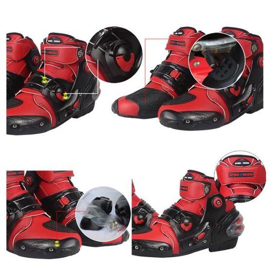 A-pro Bottes Touring demi Botte moto neuve /étanche waterproof Chaussures Biker noir 44