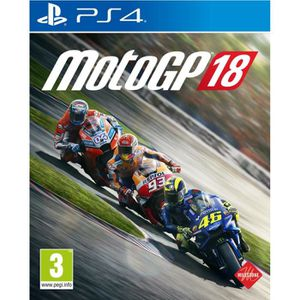 JEU PS4 MotoGP™18 Jeu PS4