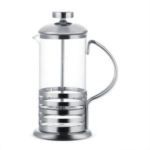 CAFETIÈRE Cafetiere en verre En Acier Inoxydable Filtre Fran