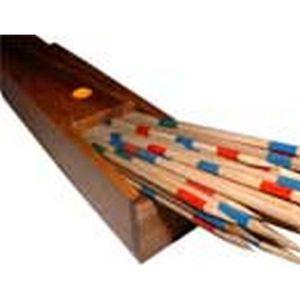 JEU SOCIÉTÉ - PLATEAU jeu de société en bois le Mikado