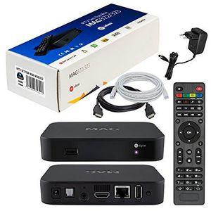 BOX MULTIMEDIA MAG 322 Original Infomir  HB-DIGITAL IPTV Set Top
