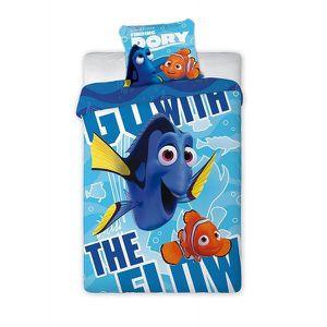 HOUSSE DE COUETTE ET TAIES Parure de lit Dory recherche Nemo Disney