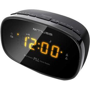 CASQUE - ÉCOUTEURS M-150CR Radio-réveil PLL FM Double Alarme Secteur