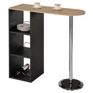 MANGE-DEBOUT Table haute de bar DETROIT mange-debout comptoir a