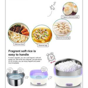 LUNCH BOX - BENTO  1L boîte à lunch chauffante électrique portatif po
