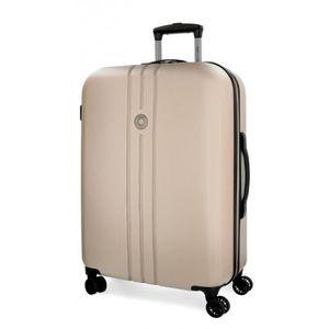 VALISE - BAGAGE Riga RÍGIDA grande valise Movom 80cm Champagne