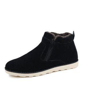 BOTTINE Bottes hommes bottes d'hiver chaud Chaussures homm