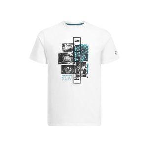 T-SHIRT T-shirt MERCEDES AMG Graphic Lewis Hamilton blanc
