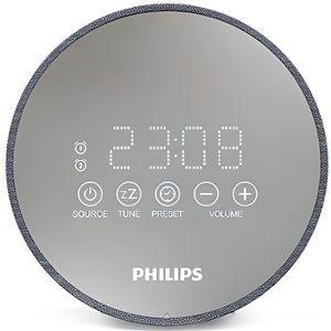 Radio réveil Radio-réveil Philips TADR402/12 FM Gris