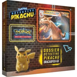 CARTE A COLLECTIONNER ASMODEE POKEMON - Film Détective Pikachu - Coffret