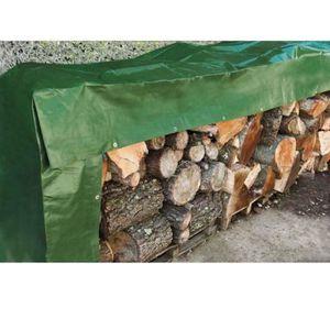 BACHE Bâche de protection pour stock de bois  2x8 m