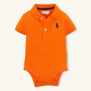 Body bébé Polo Ralph Lauren Orange 6-9 mois - Achat   Vente body ... 891af4733d3