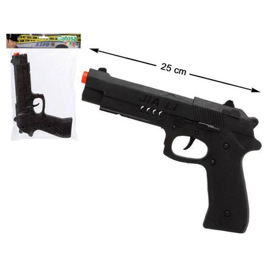Flêches /& Balles Kit Pistolet Fusil d/'Assault Police 25 cm en Plastique