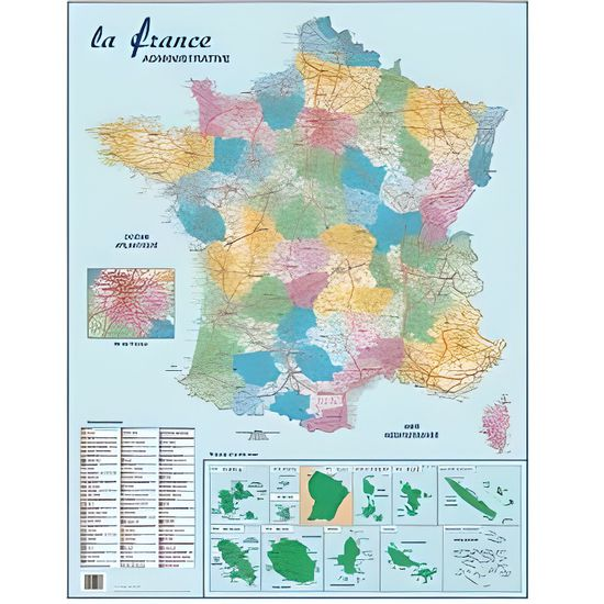 photo carte france