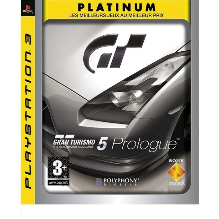 gran turismo 5 prologue platinum jeu console ps3 achat vente jeu ps3 gran turismo 5. Black Bedroom Furniture Sets. Home Design Ideas