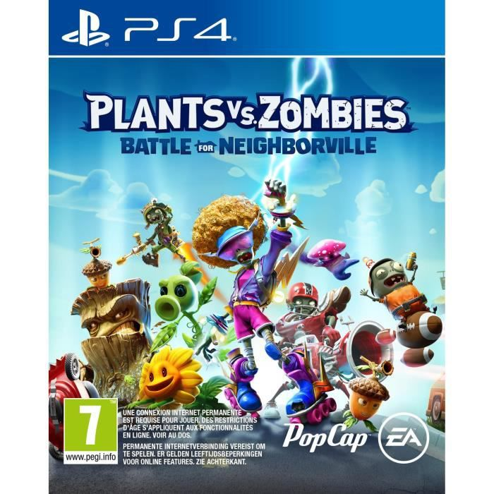 Plants Vs. Zombies: La bataille de Neighborville Jeu PS4