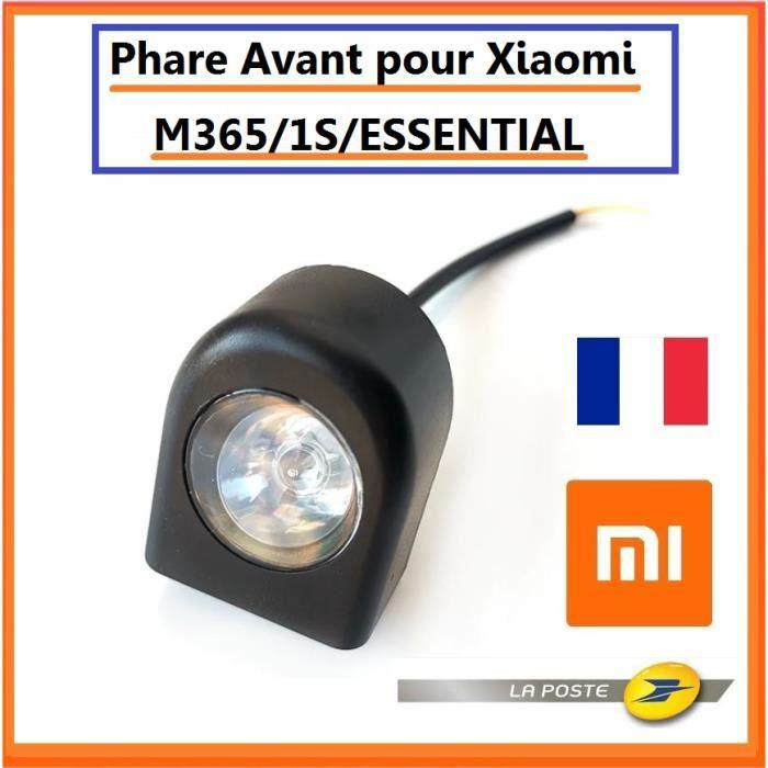 Phare Avant pour trottinette XIAOMI M365 1S ESSENTIAL pièce détaché xiaomi Lumière avant Led Feu avant xiaomi M365 pro 1s essential