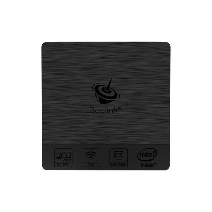 Beelink Bt3 Pro Mini Pc 4Gb+64Gb 2.4 / 5.8Ghz Wifi Bluetooth 4.0 Ethernet 1000Mbps