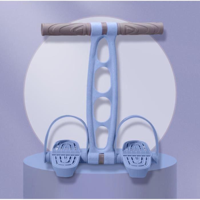 Corde de Tension de pédale Bandes de Résistance Corde élastique d'exercice Multifonctionnelle Physique Gym Fitness Musculation, Bleu