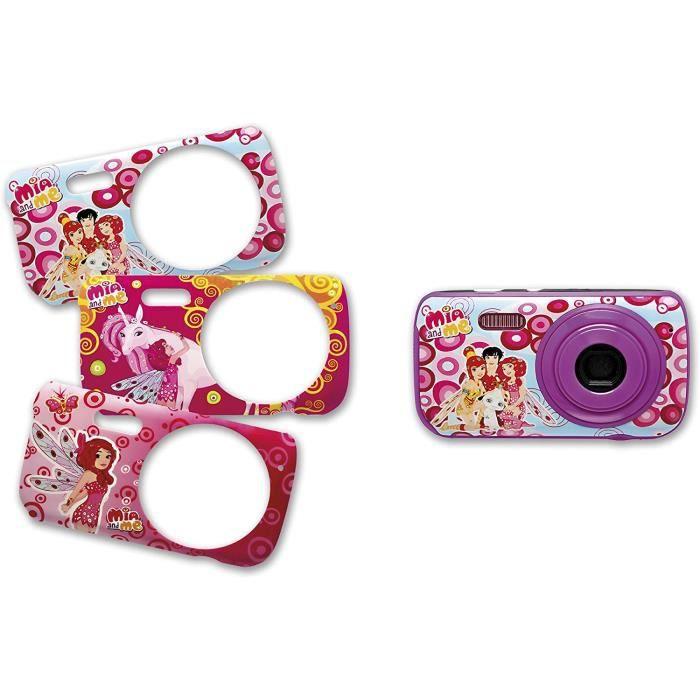 Appareils photos numériques pour enfants Teknofun 811290 Appareil Photo Numérique 3MP 3 Faces Interchangeables Mia-Mo-On 346380