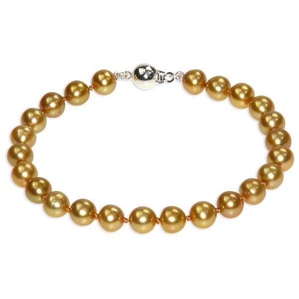 Bracelet Perles Or F