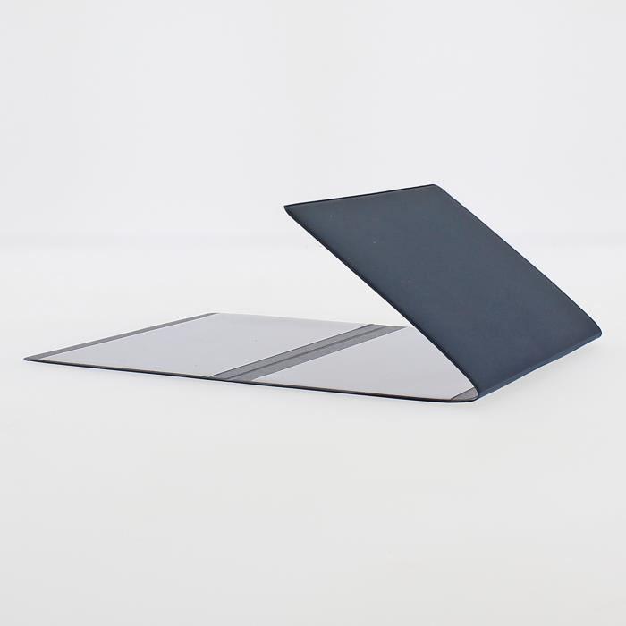 Etui PVC gomme pour carte grise (133x264 mm) bleu marine