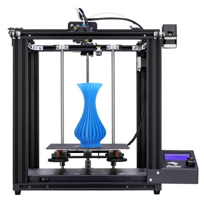 Creality 3D Imprimante 3D Ender 5 avec Fonction d'impression de Reprise et Bloc d'alimentation de Marque