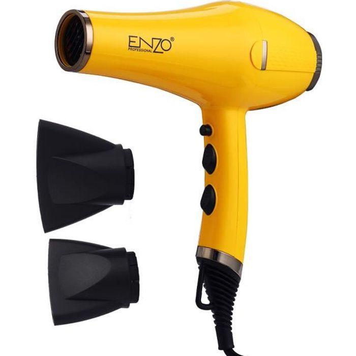 sèche-cheveux professionnel 7500W, diffuseur puissant, brosse, tout en métal, vent fort, buse, outils de Salon de coiffure