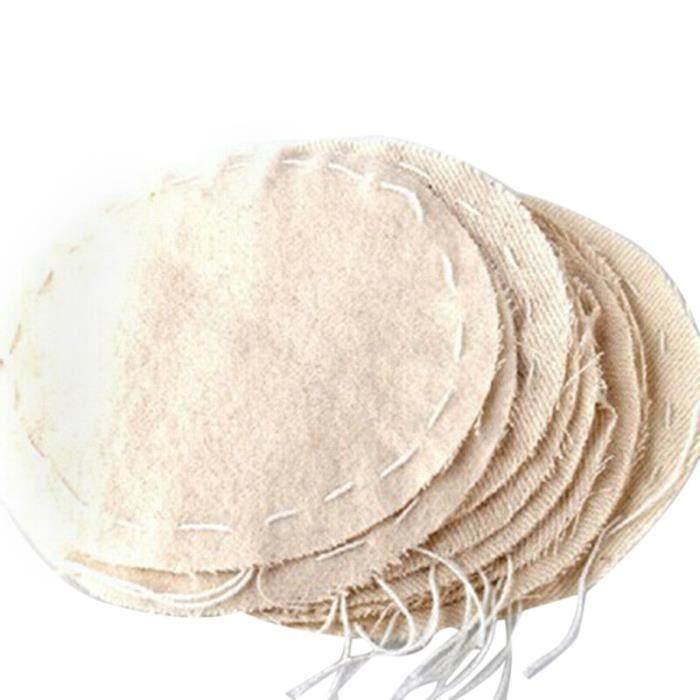 Petit déjeuner - Café,20 pièces-ensemble Siphon tissu café filtres café filtre tissu adapté pour installer Siphon - Type Beige